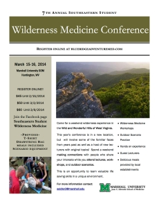Wilderness Medicine Flyer- PDF[1]